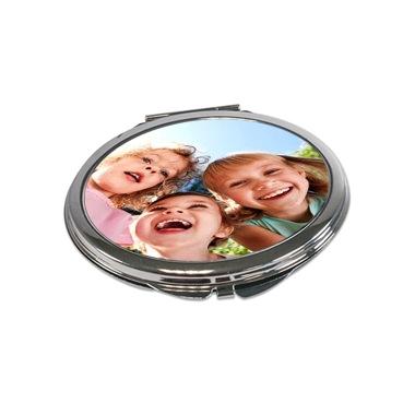 Miroir de poche ovale photo personnalis e b8 tableau for Miroir tow n see