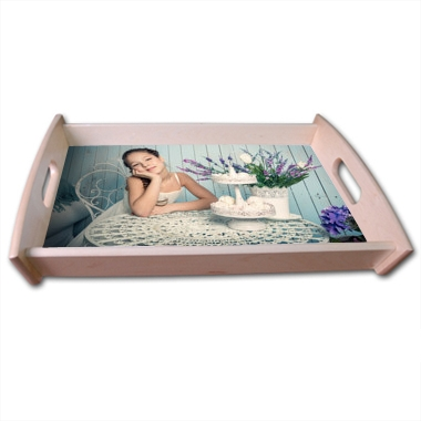 plateau repas personnalis en bois 30x42cm a631 tableau sp cialiste du tableau. Black Bedroom Furniture Sets. Home Design Ideas