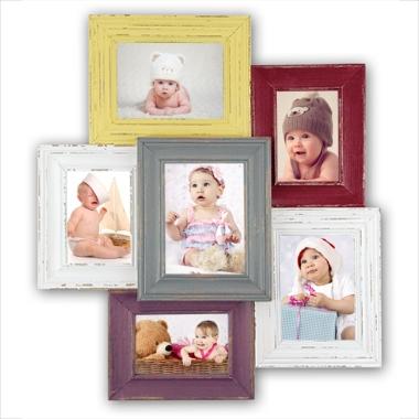 cadre p le m le 6 photos 10x15cm et 13x18cm comprises chamonix a590 tableau. Black Bedroom Furniture Sets. Home Design Ideas