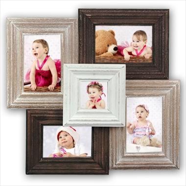 Cadre p le m le 5 photos comprises marquise a588 - Marquise pour cadre photo ...