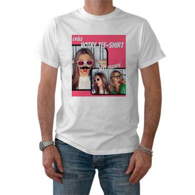 tee shirt homme personnalis recto a607 tableau sp cialiste du tableau d co et. Black Bedroom Furniture Sets. Home Design Ideas