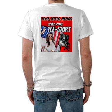 Tee shirt homme personnalis verso a703 tableau sp cialiste du tableau d co et - T shirt personnalise photo et texte ...